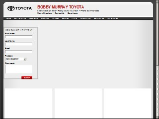 Bobby Murray Toyota Po Box 2074 Rocky Mount Edgecombe North